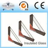 カーテン・ウォールの絶縁された構築ガラス