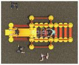Het Spel van de Spelen van Middelgrote Fysieke Rubik van Kaiqi met Diverse Manieren om Te bouwen, het Beklimmen, het Glijden (KQ60148A)