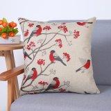 Het digitale Decoratieve Kussen/het Hoofdkussen van Af:drukken met het Patroon van Vogels (mx-86)
