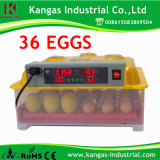 Le petit incubateur automatique le plus chaud d'oeufs du poulet 2014 (KP-36)