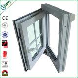 Het Duitse Veka Ontwerp van uitstekende kwaliteit van de Grill van het Ijzer van het Openslaand raam van het Glas van het Profiel UPVC Dubbele