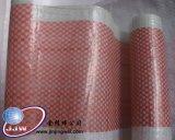 빨간 백색 줄무늬 방수포