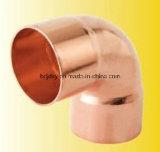 90 graus de alta qualidade da conexão de cobre do cotovelo de cobre