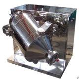 Tres máquina del mezclador de dimensiones para materiales secos