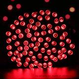 太陽動力を与えられた100つのLEDの多彩な屋外のクリスマスストリングライト