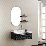 Salle de bains Meuble-lavabo en acier inoxydable avec évier