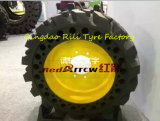 31*6*10 Solid Tyre, Forklift Skid Steer for Solid for Single Bucket Excator
