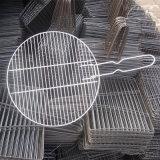 ステンレス鋼の溶接されたバーベキューの金網