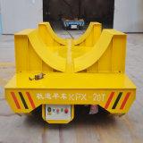 Автомобиль Kpx-10t электрический плоский при тяжелая нагрузка на рельсе