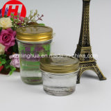 De ronde Fles van de Slasaus van de Kruik 200ml van het Glas van de Jam