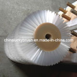 Brosse matérielle en nylon blanche de rouleau de brosse de cheveux (YY-102)