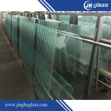 3-19mm transparente pliés/plat/renforcé pour la construction en verre trempé