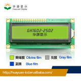 青い背景の白い記号7セグメント表示器LCDの表示
