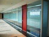Paredes de divisória de vidro acústicas para o escritório, quarto de reunião