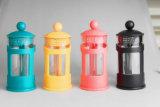Bunte Franzose-Presse-Kaffeemaschine-Glaskaffee-Potenziometer-Kaffeemaschine-Glasfranzose-Presse
