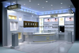 De Tegen en Kosmetische Vertoning van de vertoning voor het Winkelcomplex