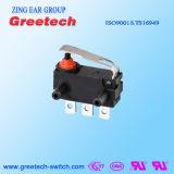 0.1A 250VAC impermeabilizzano il micro interruttore utilizzato in automobile ed in giocattoli