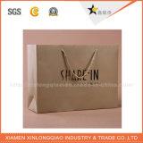 Saco de papel feito sob encomenda de alta qualidade com o punho da fita