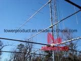 Башня и Поляк решетки антенны для сети телекоммуникаций