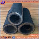 Tuyau en caoutchouc hydraulique flexible à haute pression avec ajustement