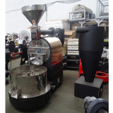 120kg-130kg par brûleur de café automatique de gaz de gestion par ordinateur en lots