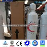 Cilindro di ossigeno d'acciaio ad alta pressione per uso medico ed industriale