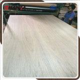 Teca/roble/roble rojo/madera contrachapada de lujo 3m m de la ceniza/de la cereza