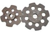 Couvercle en fonte d'acier allié haute précision avec ISO 9001