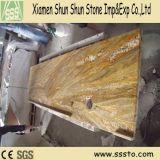 Indian Imperial Gold Granite pré-fabricados para cozinha