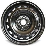 a roda 6X15 de aço orlara as rodas pretas da neve 4X100 para o carro do inverno
