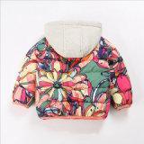 귀여운 의복 소녀를 위한 뒤집을 수 있는 허리 외투 아이들 옷