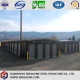 Sinoacme는 가벼운 강철 구조물 저장 헛간을 조립식으로 만들었다