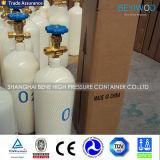Cilindro de oxígeno médico Precio del cilindro de gas de acero