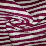 テリー布または縞または編むファブリックかBamのブーイングのフランス語テリー