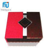 Venta caliente rectángulo MDF de alta calidad caja de monedas