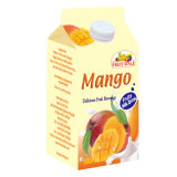 500 ml de suco fresco asséptica Gable Top Box
