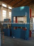 Quatre type de vulcanisation en caoutchouc presse de vulcanisation de machine de fléau/quatre piliers de plaque automatique