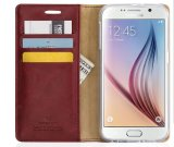 Le mercure Flip téléphone mobile en cuir pour iPhone x