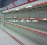Perfoated Metal Supermarket Shelf con Light Box