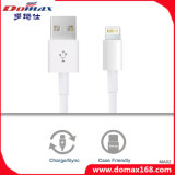 Os acessórios do telefone móvel prenderam o cabo de dados do USB do relâmpago para o iPhone 7