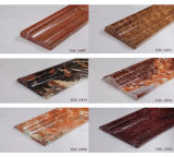 marmeren Lijn van de Decoratie van de Kleur van 800*10mm de Donkere