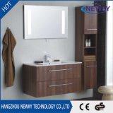 Neue an der Wand befestigte Melamin-Badezimmer-Eitelkeit mit Spiegel