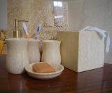 Accessori di marmo della stanza da bagno