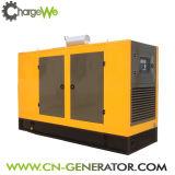 Type silencieux à faible bruit générateur de gaz naturel de 375kVA 50Hz avec l'engine superbe