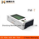 Резец лазера Китая тяжелого рабата миниый и машина лазера Engraver