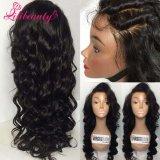 Горячая продажа 360 кружева фронтальной закрытие глубокую Wave 9 перуанской Virgin волос 360 Полный диапазон кружевом фронтальной накладки с ребенком человеческого волоса волос
