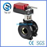 Válvula de esfera motorizada tipo Wafer com Ce, ISO9001 (DN150)