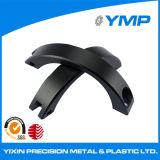 Fresadoras CNC de precisión de mecanizado de piezas de aluminio anodizado negro