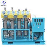 Ripetitore industriale/medico completamente senza olio del compressore dell'ossigeno