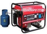 Générateur portable à gaz liquéfié à pétrole liquéfié 2kVA ~ 7kVA à usage domestique avec Ce / CIQ / ISO / Soncap